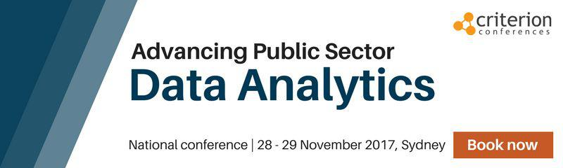 Advancing Public Sector Data Analytics conference