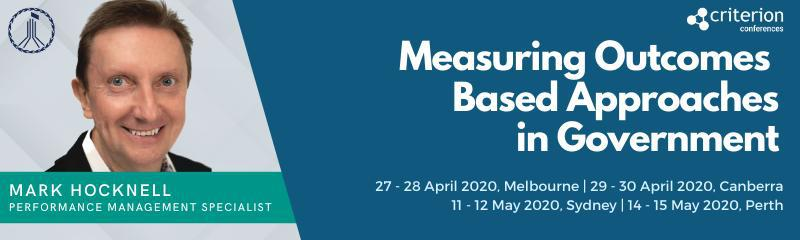 Measuring Outcomes Based Approaches in Government Masterclass