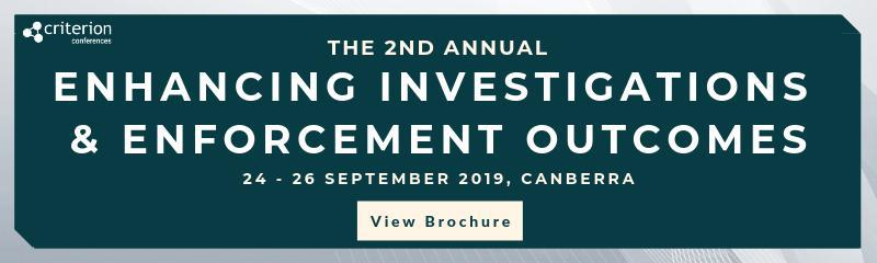 Enhancing Investigations & Enforcement Outcomes Conference
