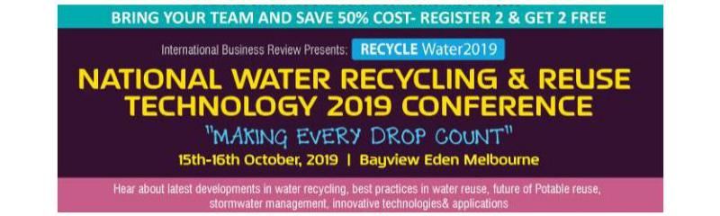 National Water Recycling  & Reuse Technology 2019 Conference